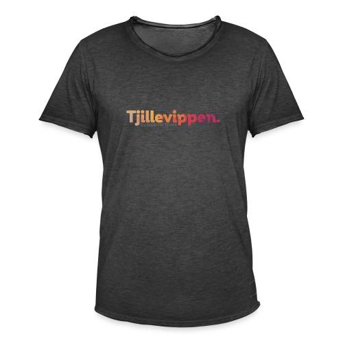 En podd om teknik - Second Edition Black - Vintage-T-shirt herr