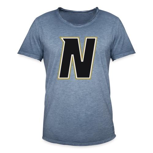 Nordic Steel Black N - Men's Vintage T-Shirt