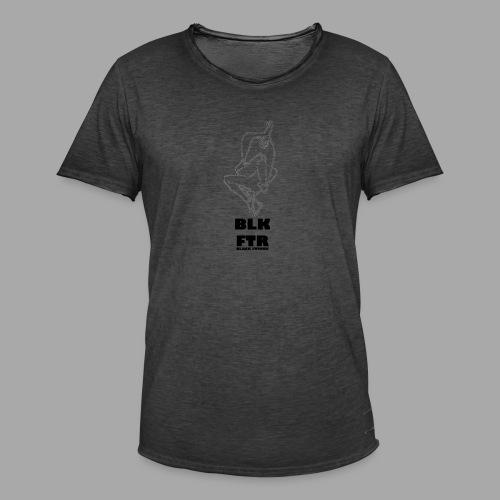 BLK FTR N°7 - Maglietta vintage da uomo