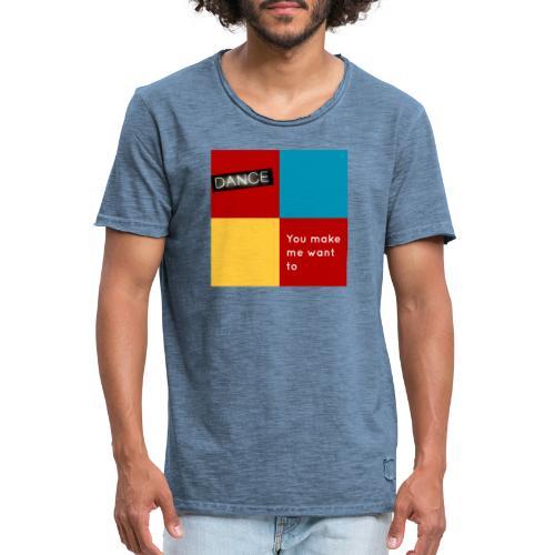 Dance - Männer Vintage T-Shirt
