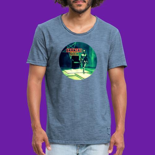 Robot Love - Men's Vintage T-Shirt