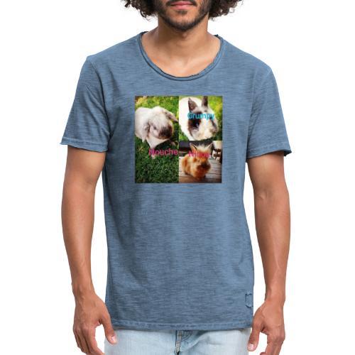 Mygoodanimallife - Mannen Vintage T-shirt