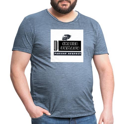 Chofer Rumano - Camiseta vintage hombre