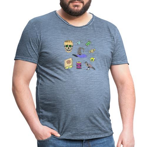 bruja - Camiseta vintage hombre
