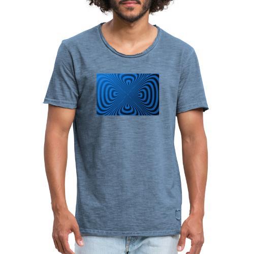 Illusion - Männer Vintage T-Shirt