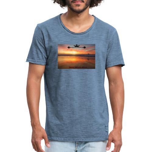 Motivated t-shirt - Männer Vintage T-Shirt
