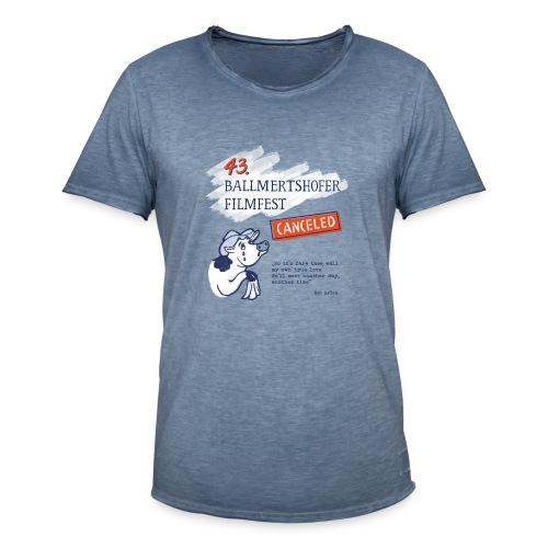 43. Ballmertshofer Filmfest Canceled - Männer Vintage T-Shirt