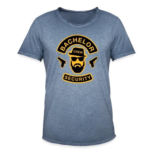Bachelor Security - JGA T-Shirt - Bräutigam Shirt - Männer Vintage T-Shirt