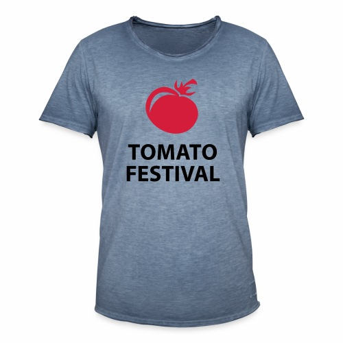 Festa di pomodoro - Maglietta vintage da uomo