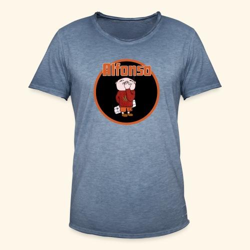 Alfonso - Vintage-T-shirt herr