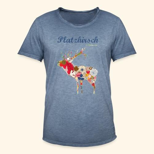 Bockwurst Sportswear - Platz Hirsch - Männer Vintage T-Shirt