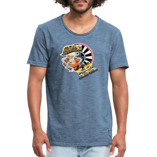 pirate of the estonian back - Männer Vintage T-Shirt