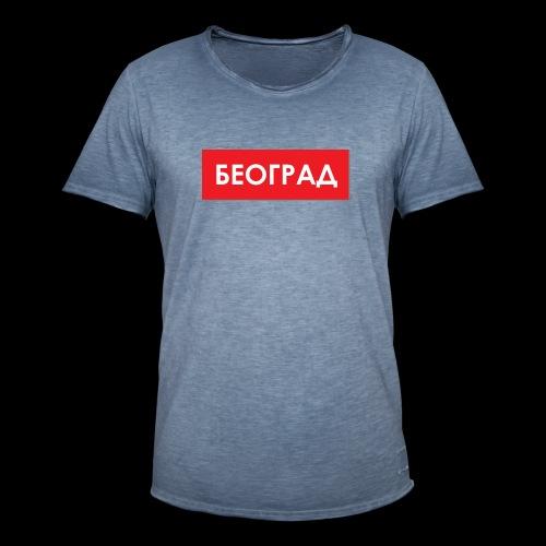 Beograd - Utoka - Männer Vintage T-Shirt