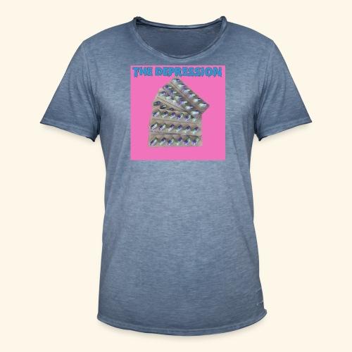 The Depresh. - Men's Vintage T-Shirt