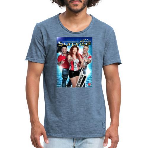 Autogramm Surprise Band - Männer Vintage T-Shirt