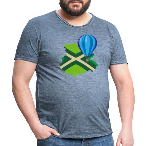 Achterhoek Ballonvaarten - Mannen Vintage T-shirt