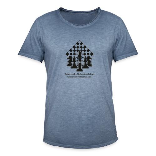 Sundsvalls Schacksällskap - Vintage-T-shirt herr