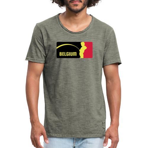 Mannekke Pis, Belgium Rode duivels - Belgium - Bel - T-shirt vintage Homme