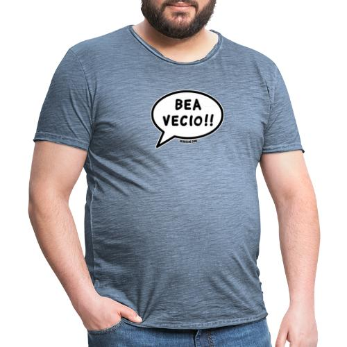 Bea Vecio Logo - Maglietta vintage da uomo