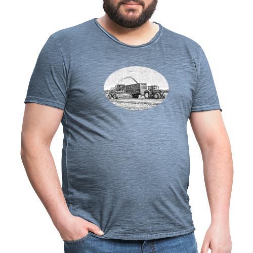 Sillageernte - Männer Vintage T-Shirt