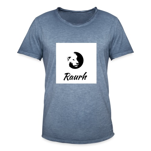 Raurh lions - T-shirt vintage Homme