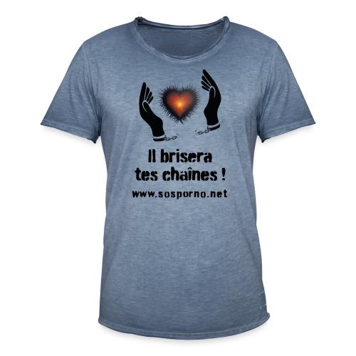 Il brisera tes chaînes ! - T-shirt vintage Homme