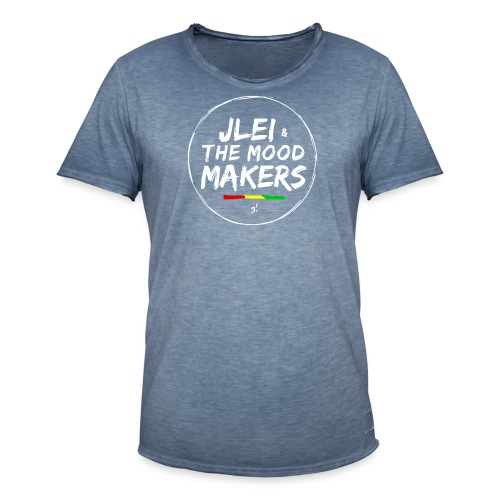Jlei & The Mood Makers Bandlogo - Männer Vintage T-Shirt
