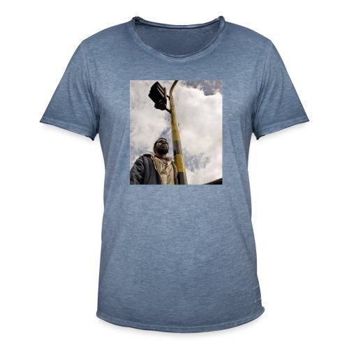 el hombre del semaforo - Camiseta vintage hombre