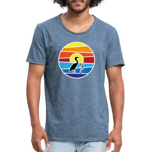 Bald isch's wiedr schee-Fest 2021 (Schwarzer Text) - Männer Vintage T-Shirt