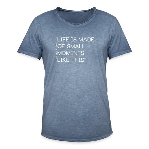 LIFEWHITE - Herre vintage T-shirt