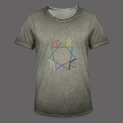 Septagramm png - Men's Vintage T-Shirt