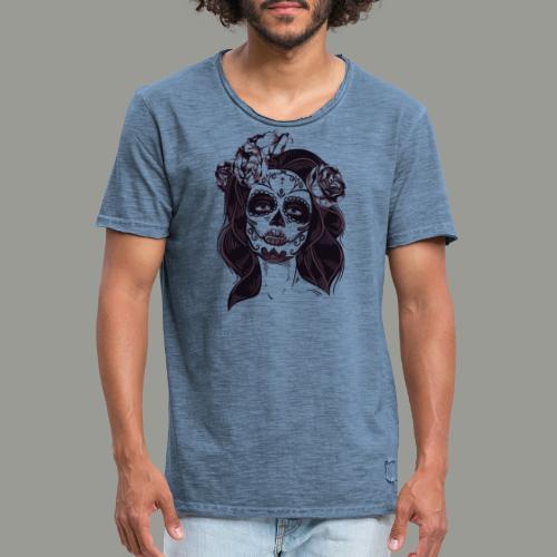 calavera - T-shirt vintage Homme