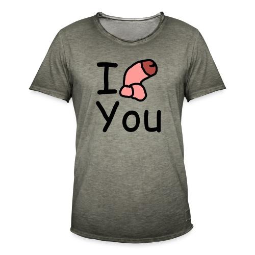 I dong you pin - Men's Vintage T-Shirt