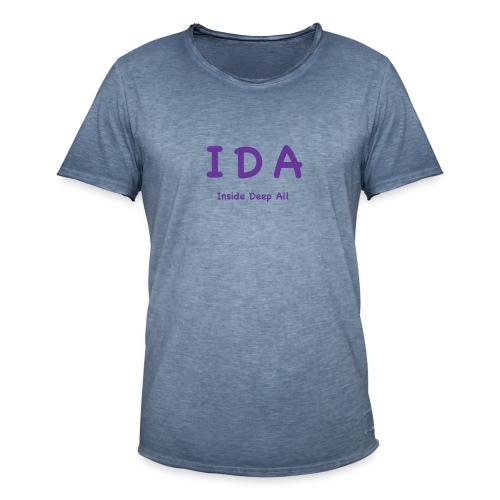 2019 06 IDA - Männer Vintage T-Shirt