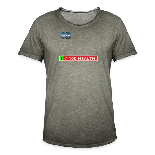 Health Tee Oh Shiiet! - Herre vintage T-shirt
