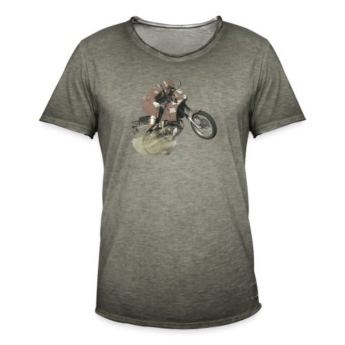 marlboro nx250 less saturation - Mannen Vintage T-shirt