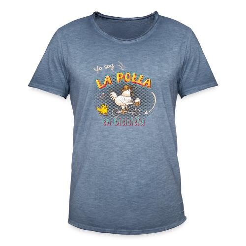 La Polla en Bicicleta - Camiseta vintage hombre