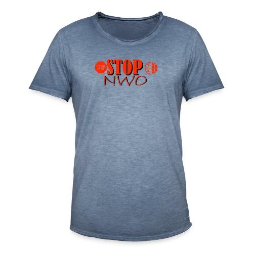 STOPNWO1 - Koszulka męska vintage