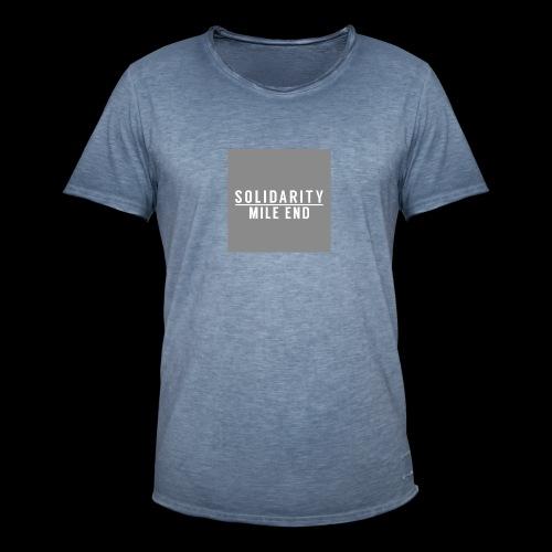 MILE END - Men's Vintage T-Shirt