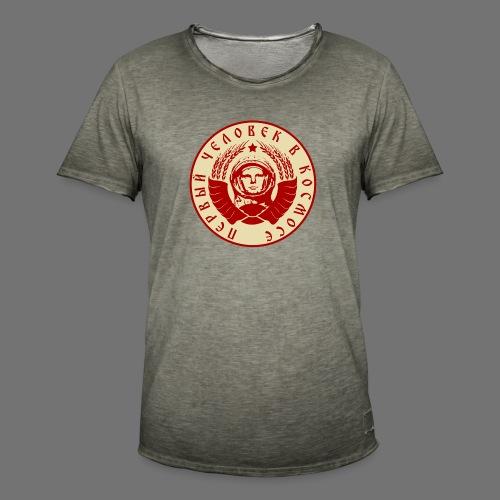 Cosmonaut 2c - Men's Vintage T-Shirt