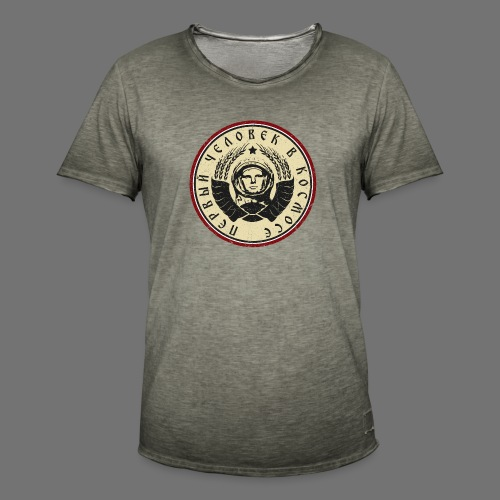 Cosmonaut 4c (oldstyle) - Men's Vintage T-Shirt