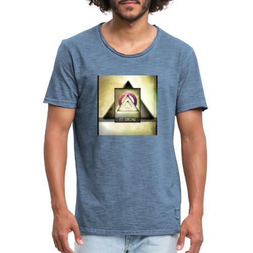 IM STRONG - Männer Vintage T-Shirt