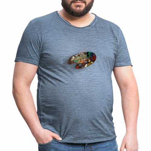 Arte - Camiseta vintage hombre