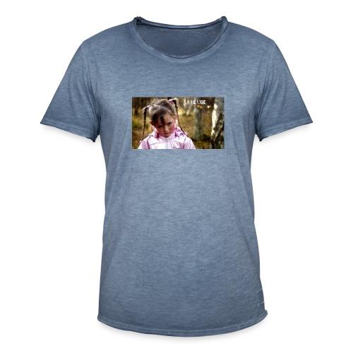 Lille Lise Picture - Men's Vintage T-Shirt