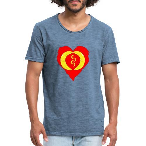 Banana love - Männer Vintage T-Shirt