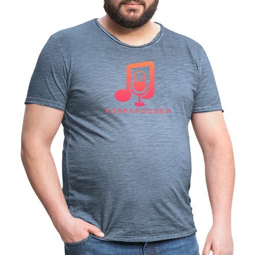 Korpspodden - Vintage-T-skjorte for menn