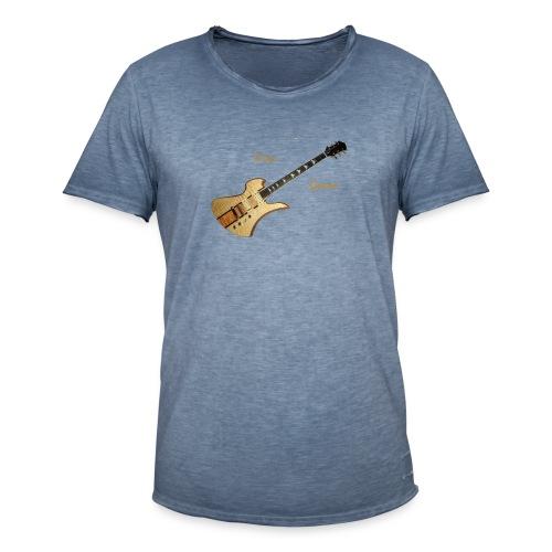 I love Guitars - Männer Vintage T-Shirt