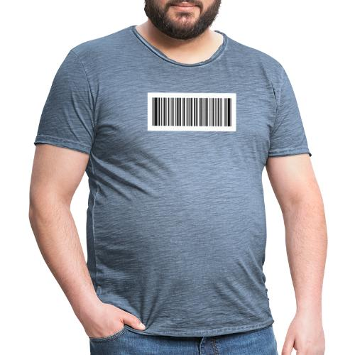 QR-Code - Männer Vintage T-Shirt
