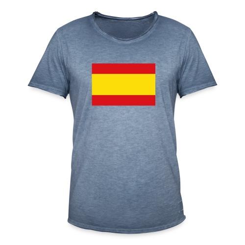 vlag van spanje - Mannen Vintage T-shirt