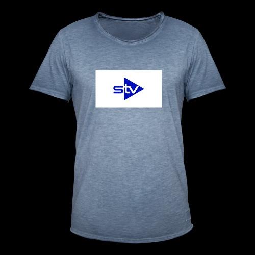 Skirä television - Vintage-T-shirt herr